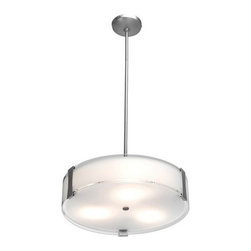 Access Lighting - Access Lighting 50123-BS/OPL  Semi-Flush or Pendant - Semi-Flush or Pendant