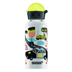 Sigg - Sigg Water Bottle - I Wanna Be - .4 Liters - Case Of 6 - There's a convenient size for every hydration need. Ideal for packing into your child's lunch box, this 0.4-liter SIGG Aluminum Water Bottle with kids bottle cap has a highly resistant lining, making it almost unbreakable! SIGG's EcoCare liner is made from BPA-free and phthalate-free ingredients.