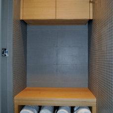 Contemporary Bathroom by Accent Custom Furniture Ltd.
