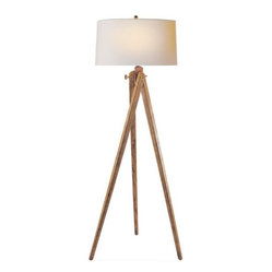 Tripod Floor Lamp by Sandy Chapman