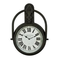 COOPER CLASSICS - Paulette Clock - Paulette Clock  Oversized Wall Clock