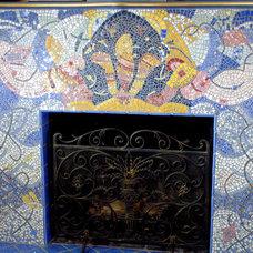 Artwork by SYBIL SAGE unusual pique assiette mosaic