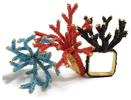 Eclectic Napkin Rings by Elements