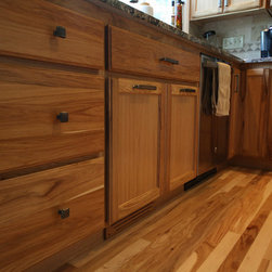Brown Hickory Kitchen