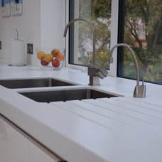 Contemporary Kitchen Countertops by Worktops.net
