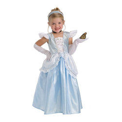 Little Adventures - Little Adventures Cinderella Costume with Optional Slip Multicolor - LITL036 - Shop for Children Costumes from Hayneedle.com! You ll be the belle of the ball with the Little Adventures Cinderella Costume with Optional Slip - just remember to be home by midnight (pumpkin not included). In your choice of size it features a blue stretch velvet bodice with a gathered white inlay not to mention silver trim white rose accents ruffled cap sleeves and sequin-trimmed hip drapes.Sizing Details:Small fits ages 1-3 yrs.Medium fits ages 3-5 yrs.Large fits ages 5-7 yrs.X-Large fits ages 7-9 yrs.About Little AdventuresWith humble beginnings Little Adventures was founded over 10 years ago by Jennifer Harrison (mom of 10) and Heather Granata (mother of 3) who began sewing and selling dress-up clothing at local craft fairs. Little Adventures then evolved into a successful business that aims to bring imagination and joy to children the world over. Their products are crafted of no-itch fabrics that are durable machine washable and the best in quality. And the critics agree - Little Adventures products have earned accolades from Creative Child Magazine Fat Brain Toy Awards The Toy Man and more.