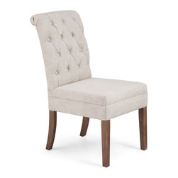ZUO ERA - Geary Chair Beige (set of 2) - Geary Chair Beige