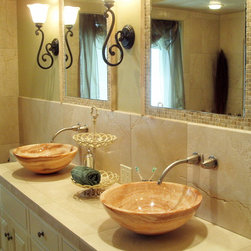 Stone Vessel Sinks - Carved Stone Creations, Inc.
