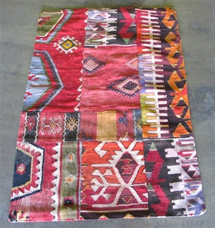 eclectic rugs by The Loaded Trunk
