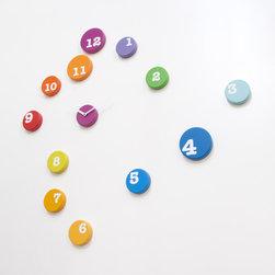 FUN TIME   modern wall clocks - made in Italy - Design: Barbero design