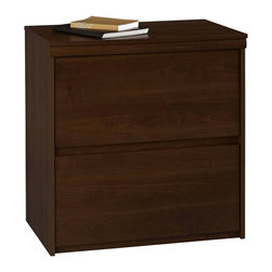 Ameriwood - Ameriwood Lateral File in Resort Cherry - Ameriwood - Filing Cabinets - 9502207P