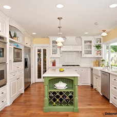 traditional kitchen by Deborah Gordon Designs
