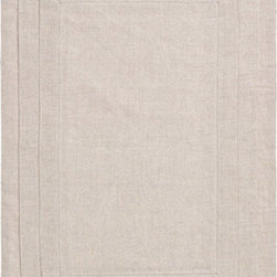 Pine Cone Hill Pleated Linen Natural Placemat - A classic linen placemat is a really great way to build a tablescape — incorporate a variety of colors and style through various layers and use for events again and again. I love the pleated detail!