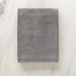 Grandin Road - Micro Cotton Bath Towel - Soft, super absorbent and quick-drying MicroCotton towels and matching towel-style bath mat. Made from 100% long staple, very fine cotton. Rated the best cotton towel in America by Real Simple magazine. Fiber length and density allow towels and mats to absorb moisture 250% faster than a regular cotton towel. 600 GSM weight. Extra absorbent and rated the best cotton towel in America by Real Simple magazine, MicroCotton towels make a great addition to the master or guest bath. Each size is sold individually and made from exceptionally soft, silk-like, 100% long-staple cotton fibers that weigh in at 600 grams per square meter. Each cotton fiber is very fine and longer than those used in some of the finest Egyptian cottons: each loop is made up of 120 fibers, whereas regular cotton towel loops are made of 30 to 40 yarns. Each size is available in a wonderful array of hues; the color selection coordinates perfectly with the Reversible Cotton Bath Rug.. . . . . Machine washable: wash dark colors separately in cool water (40 degreesF), do not use bleach or products containing benzoyl peroxide. Towel-style bath mat does not have a rubber backing. Each piece sold separately. Imported.