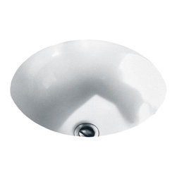 "American Standard - American Standard 0630.000.020 Orbit Undercounter Sink, White - American Standard 0630.000.020 Orbit Undercounter Sink, White. This round undermount sink is constructed of vitrous china, and features a front overflow and an unglazed rim for undercounter mounting. It comes with it's own mounting kit, and measures 15-1/2"" round, with a 4-3/8"" bowl depth."