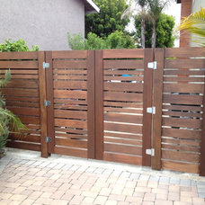 Modern Fencing by SD Independent Construction