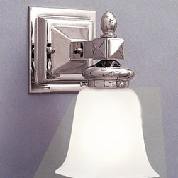 Hudson Valley Lighting - Hudson Valley Lighting 2821-PN Cumberland 1 Light Bathroom Vanity Light - This 1 light Bath And Vanity from the Cumberland collection by Hudson Valley Lighting will enhance your home with a perfect mix of form and function. The features include a Polished Nickel finish applied by experts. This item qualifies for free shipping!