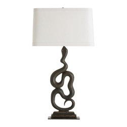 Arteriors - Arteriors Heath Lamp - Left - Heath Lamp, Left
