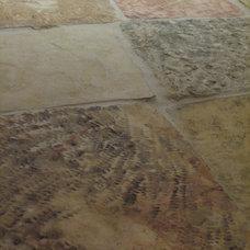 Mediterranean Floor Tiles by Habitat Stone