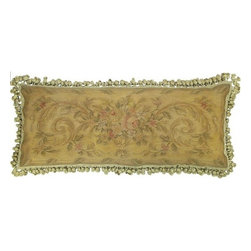 "EuroLux Home - New Aubusson Throw Pillow 14""x36"" Rectangle - Product Details"