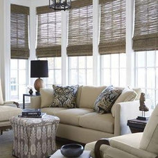 Mediterranean Window Treatments by Distinctive Window Designs