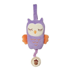 miYim - miYim My Natural Musical Pull Toy Owl, Purple - Made from all natural materials that plays soothing musical plays twinkle, twinkle, little star. This is a gift you can feel good about giving your little loved one