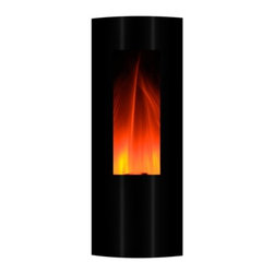 Yosemite Home Decor - Symphonic Tower 42 - Yosemite Home Decor - Symphonic Tower 42 will look absolutely perfect in a contemporary home or interior. Its sleek glossy black exterior surface is a beautiful accent to a room. The design is also a wonderful space saver. This electric fireplace is highly recommended for people who love music. In addition to a remote control it is also fitted with a hi-fi audio speaker and USB/MP3 connections.  Not only does Yosemite Home Decor Symphonic Tower 42 Wall Hang unit gives a wonderful visual ambiance to the room it also provides aural ambiance.