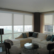 Contemporary Roller Blinds by Solar Shading Systems