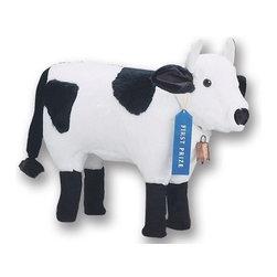 Plush Foot Stools - Cow -