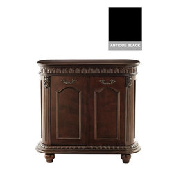 Home Decorators Collection - Kendall Wide Hamper - The ample storage area of our Kendall Wide Hamper is the perfect solution for busy bathrooms. Keep floors free of clothes and towels while adding the sophistication of handcrafted details. Two pull-out laundry bins. Antique finish.
