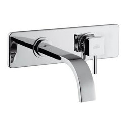 WS Bath Collections Level LEA 101 Roman Tub Filler Faucet - The terrifically modern WS Bath Collections Level LES 101 Roman Tub Filler Faucet is a concealed single lever faucet with an impressive 6.9 –inch spout projection that's ideal for a large bathtub or whirlpool. Designed to endure by the finest Italian craftsmen, this solid brass fixture features a stunning finish in your choice of matte or polished chrome that is guaranteed to resist the corrosion and tarnishing that lesser faucets suffer from as a result of daily use. A true work of art, the WS Bath Collection Level LES 101 Roman Tub Filler Faucet will only make your bathroom more luxurious. All parts are covered by the manufacturer's warranty and designed for use with standard U.S. plumbing connections. Product Specifications ADA Compliant: No Mount Type: Wall Mount Handle Style: Lever Spout Reach: 6.9 in. About WS Bath CollectionsA tradition of fine handcraftsmanship, warmth of material, and beauty of design characterizes this company's exclusive collection of fine bathroom and kitchen products. The collections include innovative and distinctive sinks, washbasins, washstands, bathtubs, bathroom furniture, and complementary accessories that provide inspirational solutions for every imaginable decor.
