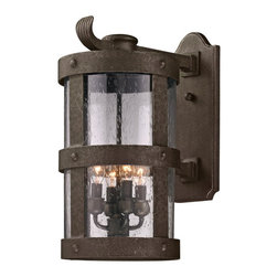 Troy Lighting - Barbosa 4 Light 19 5 High Outdoor Wall Sconce - Since 1963, Troy Lighting has been creating highly original fixtures shaped by a passion for design, quality and value.