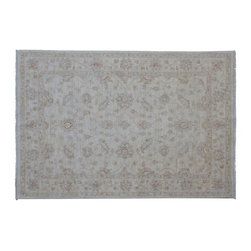 1800-Get-A-Rug - Oriental Rug Stone Wash Ziegler Mahal Hand Knotted Rug Sh9256 - About Oushak and Ziegler Mahal