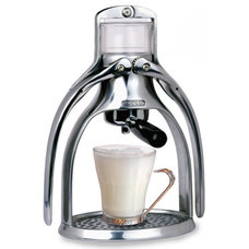 modern coffee makers and tea kettles by Matteria