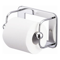 Burlington Toilet Roll and spare Toilet Roll Holders - Traditional style, chrome finish.