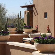 Mediterranean Patio by Danielle Jacques Designs LLC