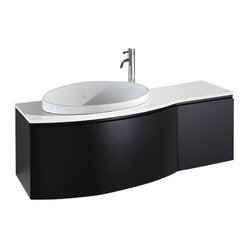 "Wyndham Athena 48"" White porcelain Sink"