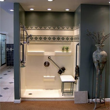 Traditional Showers by Accessible Home Consultants