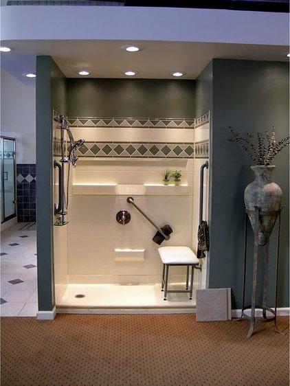 Traditional Showerheads And Body Sprays by Accessible Home Consultants