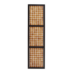 BZBZ67706 - Amy Princessa Wall Panel with White Check and Black Design - Amy princess wall panel with white check and black design. It completely transforms the look of your room making it vibrant and lively. The wall panel is just right for the modern contemporary interiors of your home. Some assembly may be required.