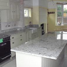 Traditional Kitchen Countertops by Cheshire Granite Worktops