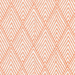 """Ballard Designs - Belize Apricot Fabric by the Yard - Content: 100% Cotton. Repeat: Non-railroaded fabric, 8 1/4"""" repeat. Care:Dry Clean. Width: 54"""" wide. Taupe and apricot geometric printed on crisp 100% cotton. . . .  . Because fabrics are available in whole-yard increments only, please round your yardage up to the next whole number if your project calls for fractions of a yard. To order fabric for Ballard Customer's-Own-Material (COM) items, please refer to the order instructions provided for each product.Ballard offers free fabric swatches: $5.95 Shipping and Processing, ten swatch maximum. Sorry, cut fabric is non-returnable."""