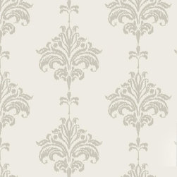 """Ikat Wallpaper, Neutral, 25"""" X 8.5' - """"Swag Paper - Empowering the Do-It-Yourselfer:"""