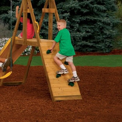PlayStar Standard Climbing Rocks - Add a climbing surface that offers a variety of challenges with the PlayStar Standard Climbing Rocks. This set of 4 rocks can be configured in a variety of ways and include all mounting hardware. Each is uniquely shaped and is designed for use on .75-inch lumber. Not for use with the PlayStar Rock Wall. Made in the USA.About PlaystarThe Playstar company started in the garage of an entrepreneur located in the heartland of America. Since then, the owner's dream of creating a company built by good, hardworking people has come alive, making them the leading manufacturer of residential play sets.Playstar offers a range of swing sets to match your family's needs and lifestyle. Should you need any assistance with your system, you can always rely on the friendly, professional, and self-motivated Playstar customer service representatives. Rest assured, any of their innovative products will be of the highest value and best quality.