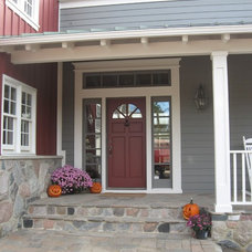Traditional Exterior by Marhofer / Campbell Building Companies