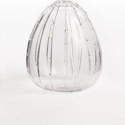 Sea Urchin Glass Vase - Tall - Sea Urchin Glass Vase - Tall