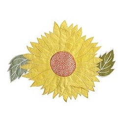 Sunflower Placemat - Couldn't you see this placemat square in the middle of the kitchen table with a large vase of sunflowers on top?