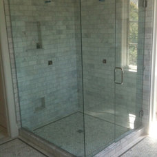 Traditional Bathroom by Tarkus Tile, Inc.