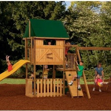 contemporary outdoor playsets by Hayneedle