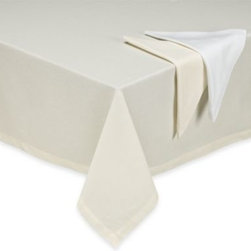 Ka&f Group, Llc - Bistro Round Tablecloth - With its extra wide one-piece construction, tablecloth will be perfect for the times you entertain with your longer, wider table.